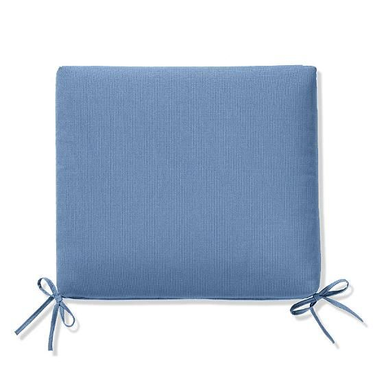 Knife-Edge Outdoor Chair Cushion
