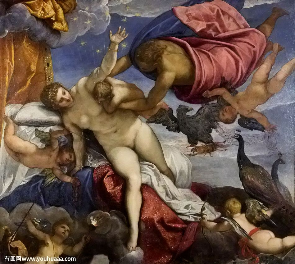 "The Birth Of The Milky Way 8.5x11/"" Photo Print Peter Paul Rubens Nude Woman Art"