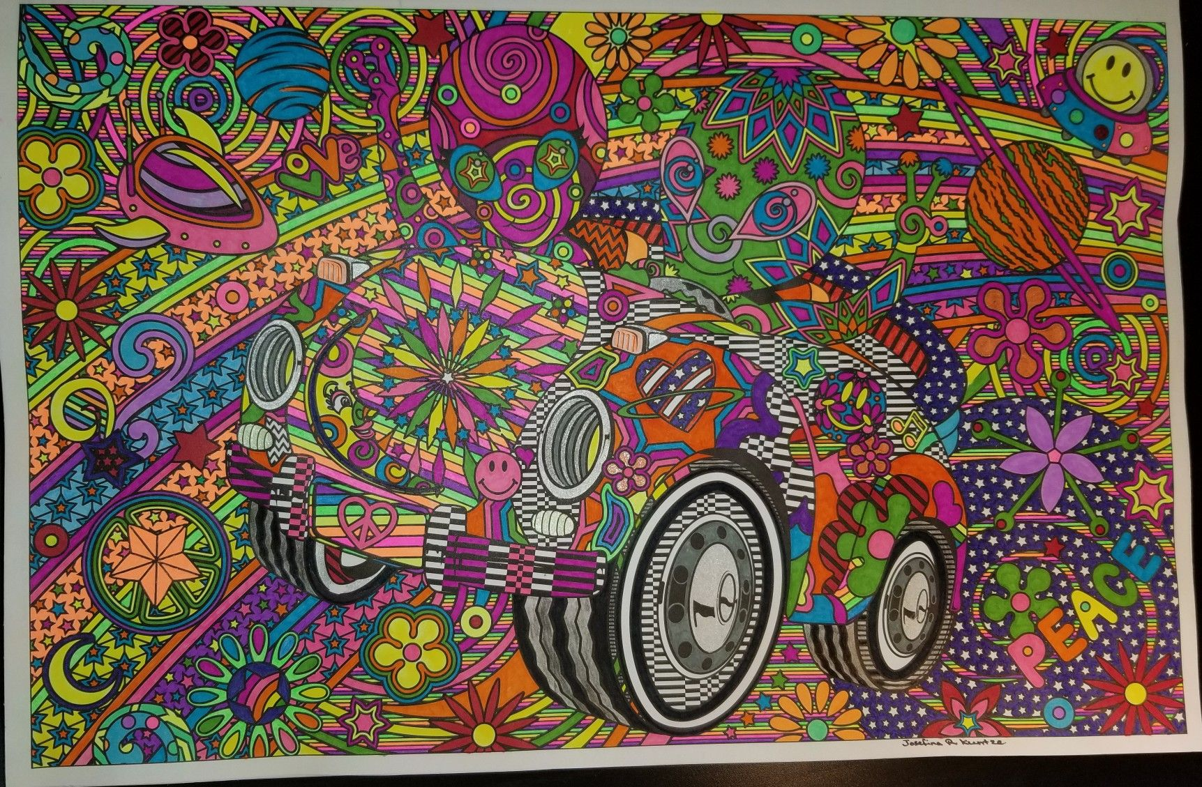 Color Me Lisa Frank Posters
