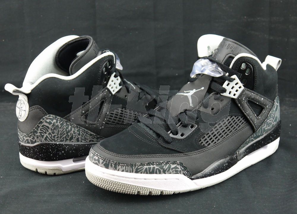 low priced a170f d9862 Nike Air Jordan Spizike Oreo Spike Lee Black White Cement 315371-004 Msrp   175 in Clothing, Shoes   Accessories, Men s Shoes, Athletic   eBay
