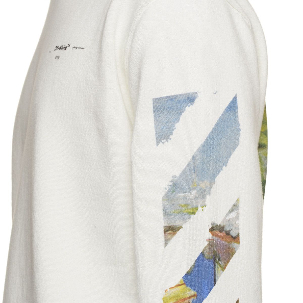 cad19718 Diag Colored Arrows sweatshirt | GRAPHIC TEXT LAYOUTS | White c ...