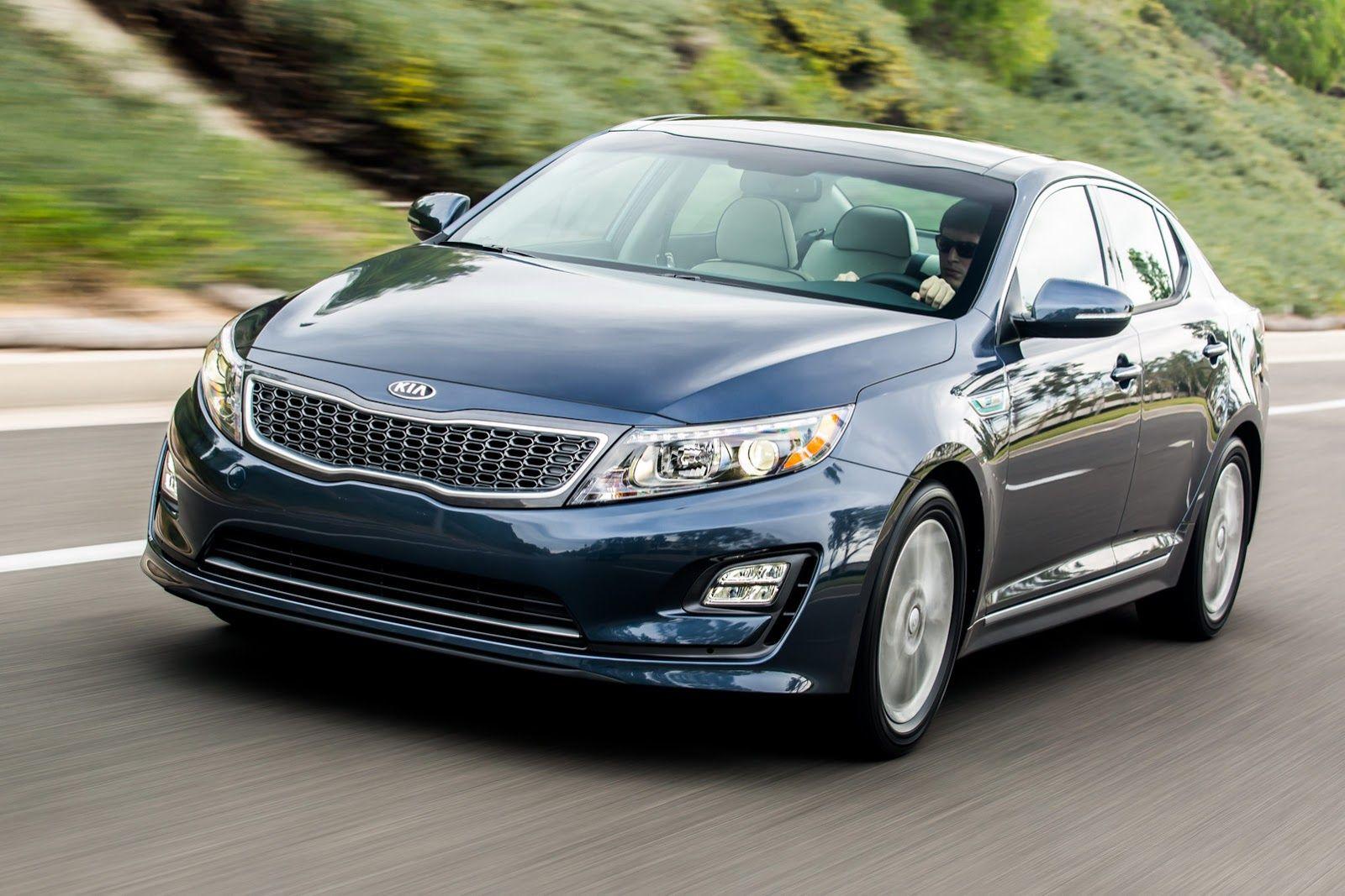 Kia refreshes 2014 optima hybrid sedan w videos carscoops