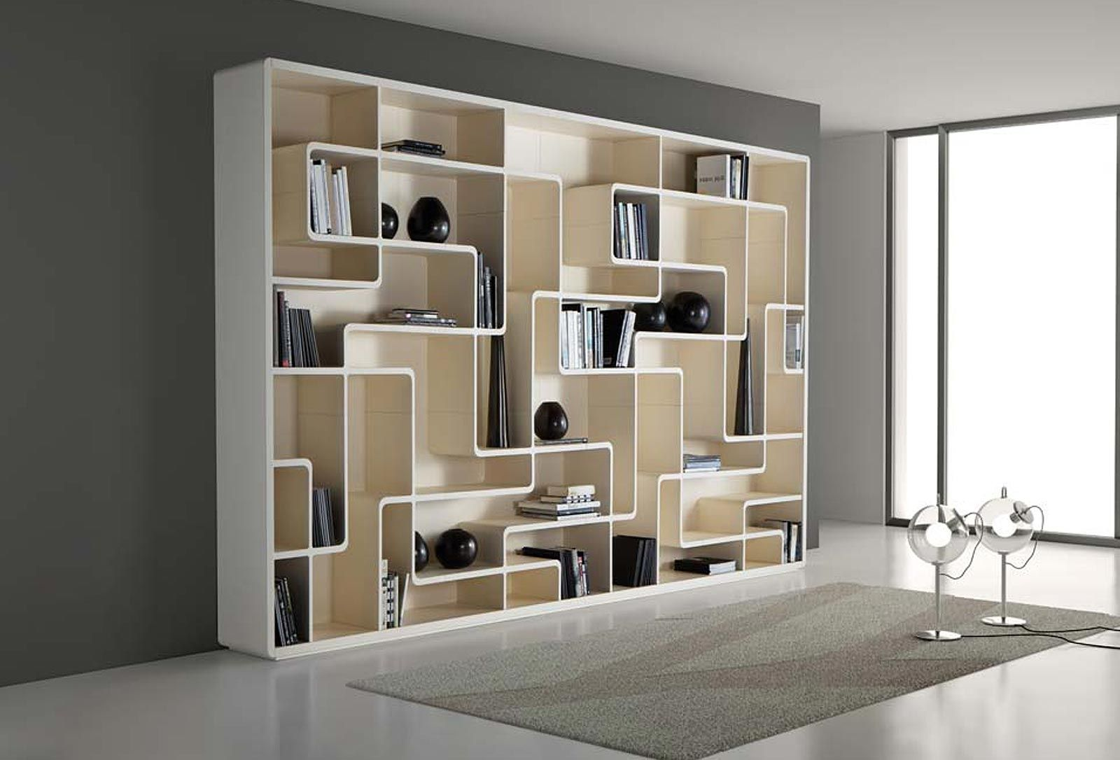 Ordinaire Cool School Bookcase | Contemporary Snake Bookcases Design  By Giuseppe Bavuso Cool Bookcases .