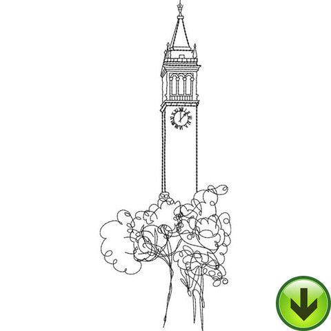 Беркли башня вышивки |  СКАЧАТЬ