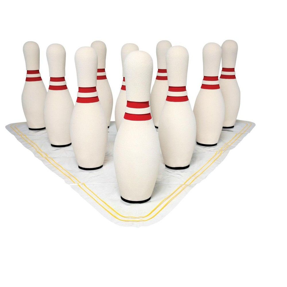 Ultrafoam 15 Inch Unweighted Bowling Pins Set Of 10 In 2020 Bowling Pins Bowling Bowling Ball