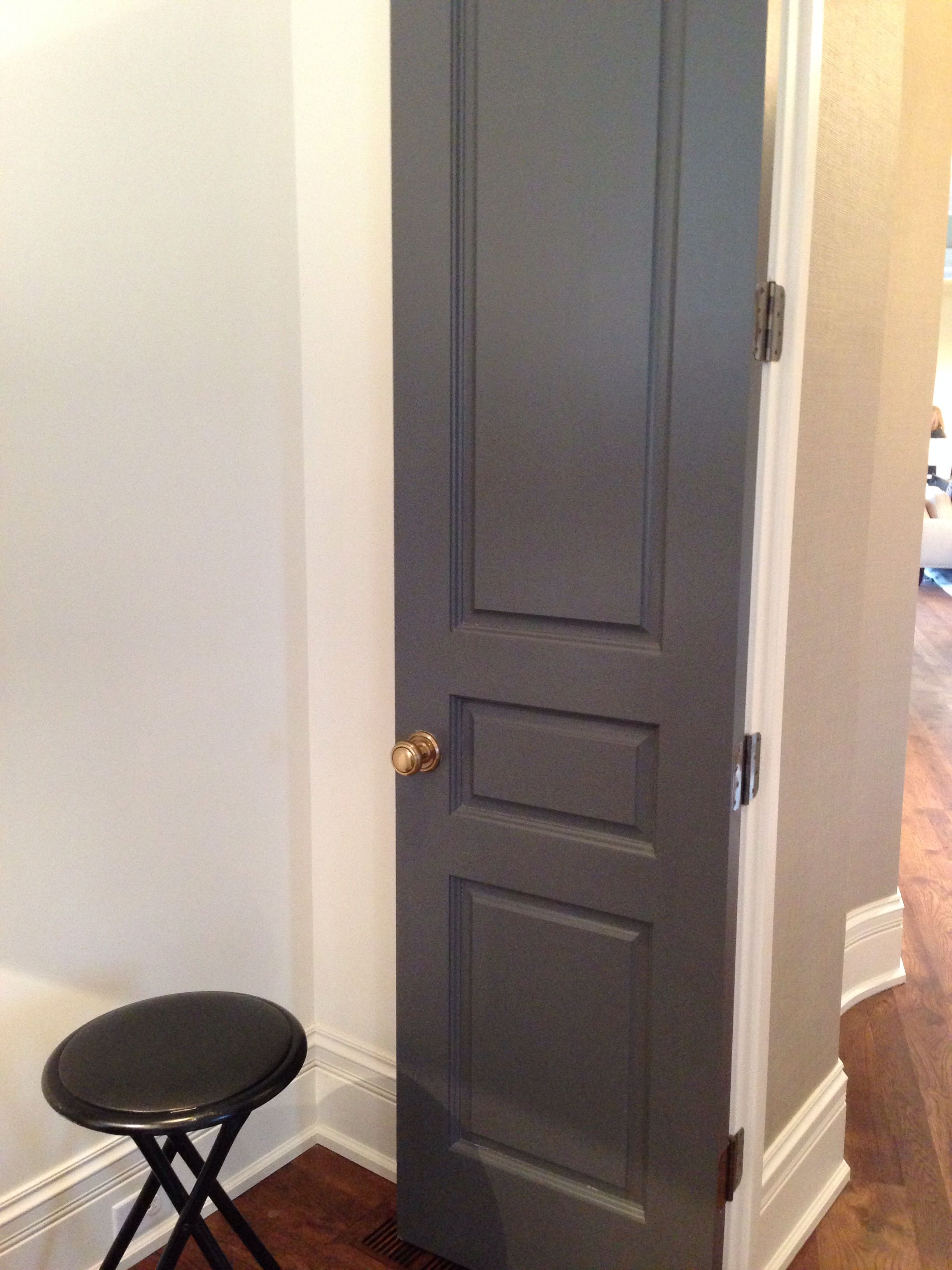 Sw Peppercorn Paint Color Vanity Oktay Finishes