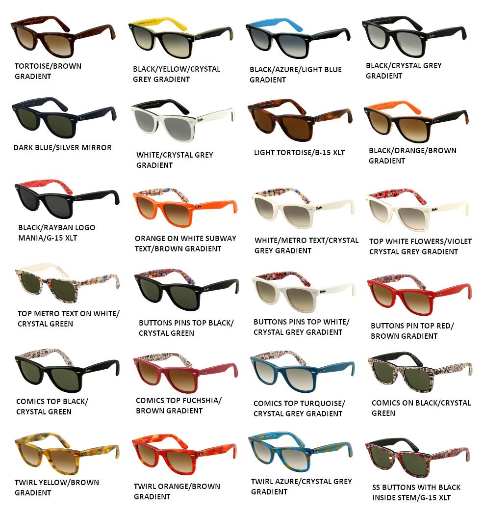 I Will Take Them All Please Rayban Wayfarer Wayfarer Sunglasses Black Crystals