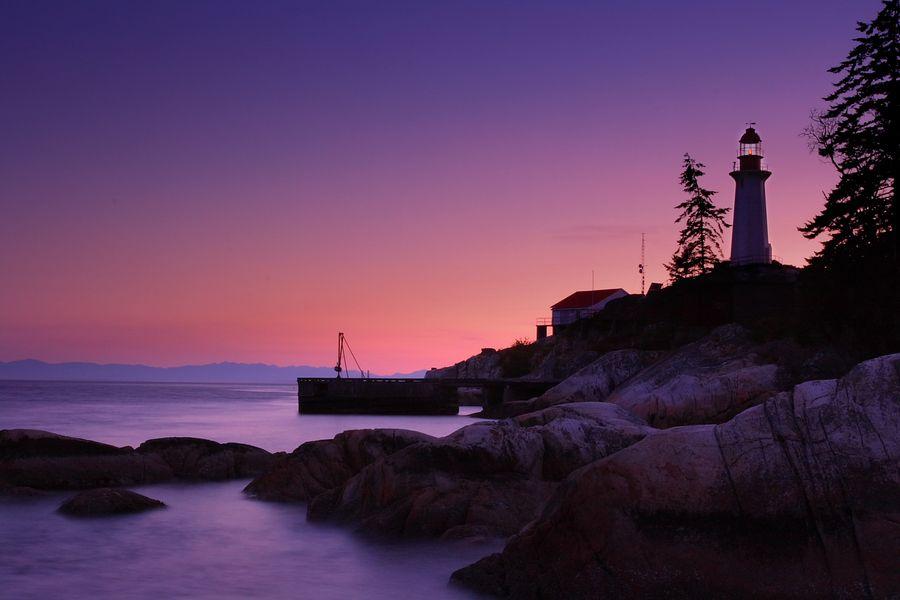 light house by Steven Dai, via 500px