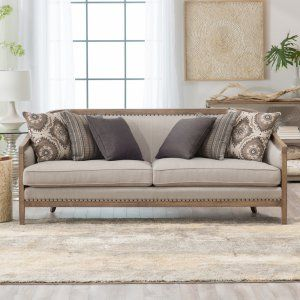 Belham Living Harper Sofa   Channel French Inspired Design With A  Contemporary Twist By Adding