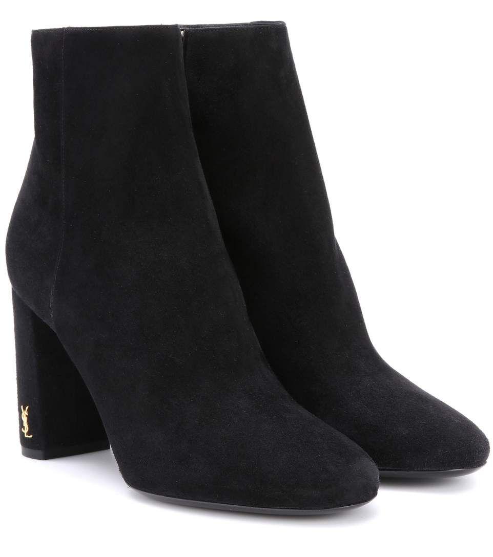 d2ef300a0c3 SAINT LAURENT Babies 70 Suede Ankle Boots.  saintlaurent  shoes  boots