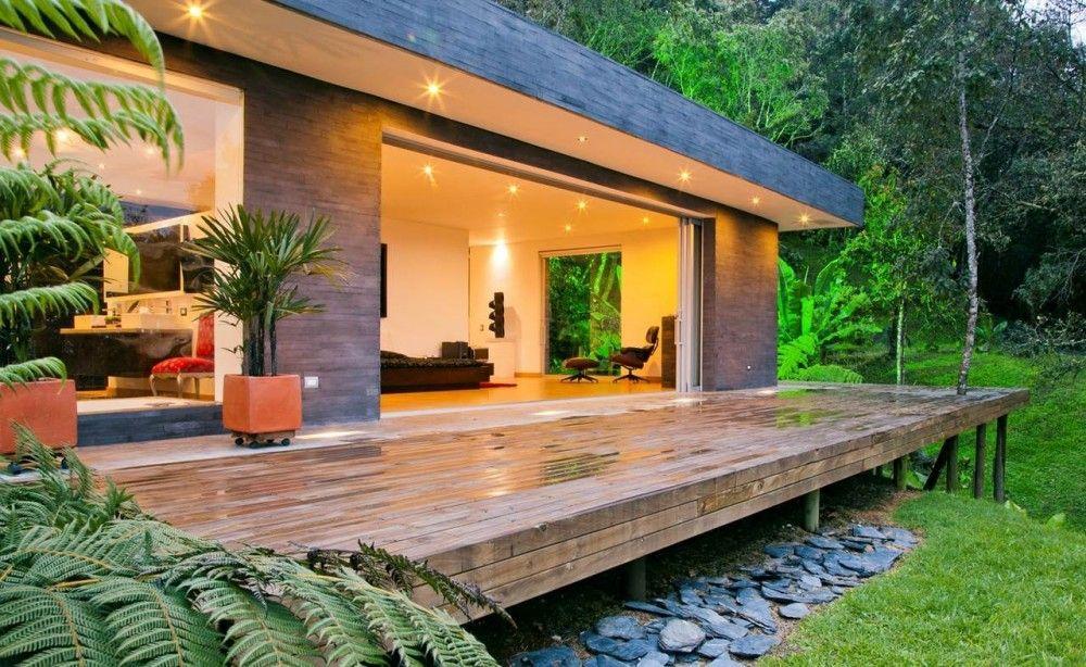 """House """"Lago en el cielo"""" / David Ramirez in Antioquia, Colombia"""