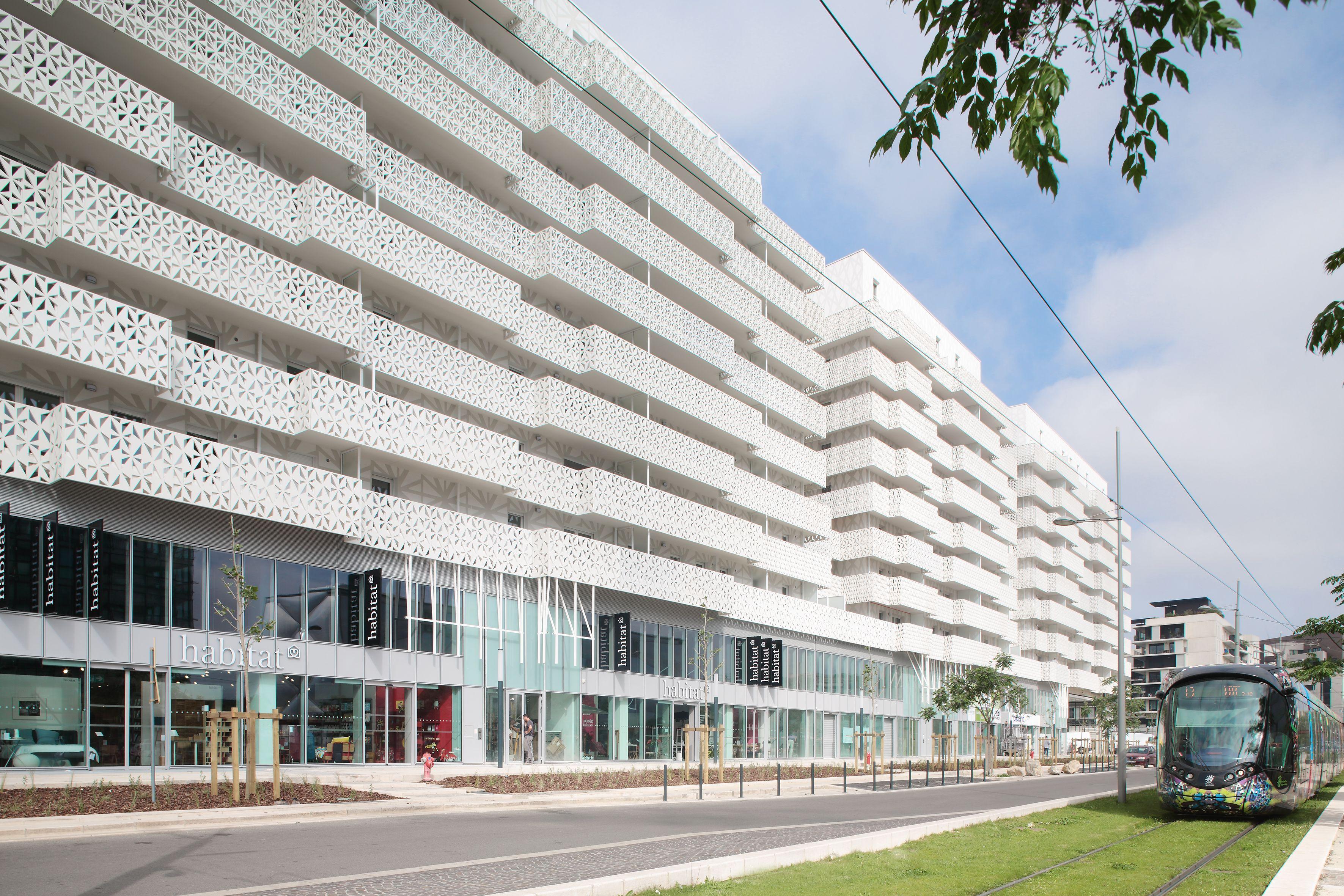 Port marianne quartier jacques coeur architecture - Agence immobiliere port marianne ...