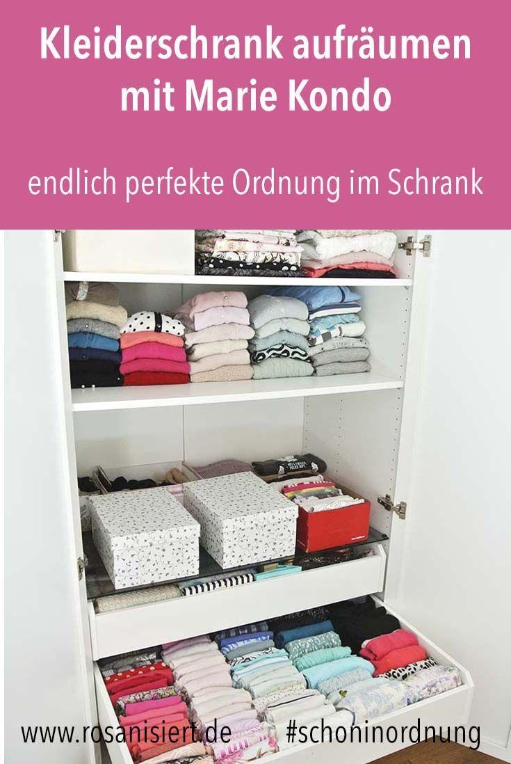 Kleiderschrank aufr umen mit der konmari magic cleaning for Minimalistischer kleiderschrank