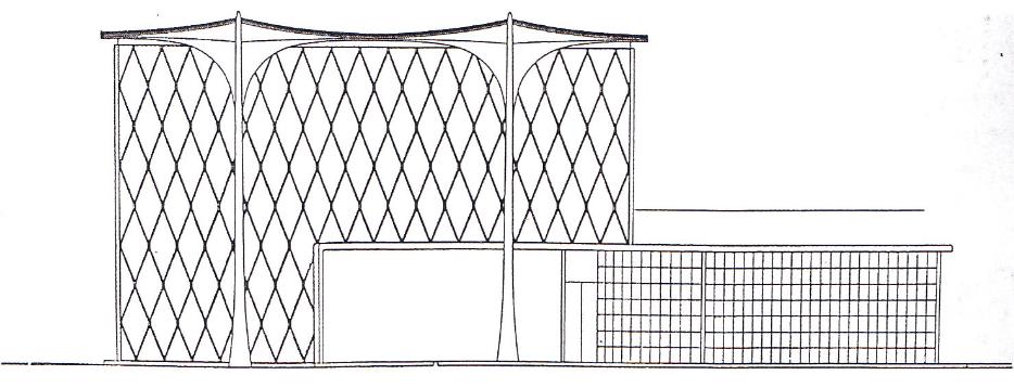 Maison suspendue suspended house 1936 1938 unbuilt for Architecture suspendue