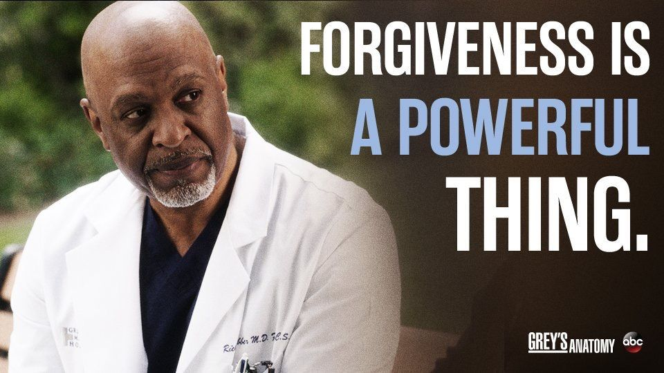 Forgiveness is a powerful thing.\