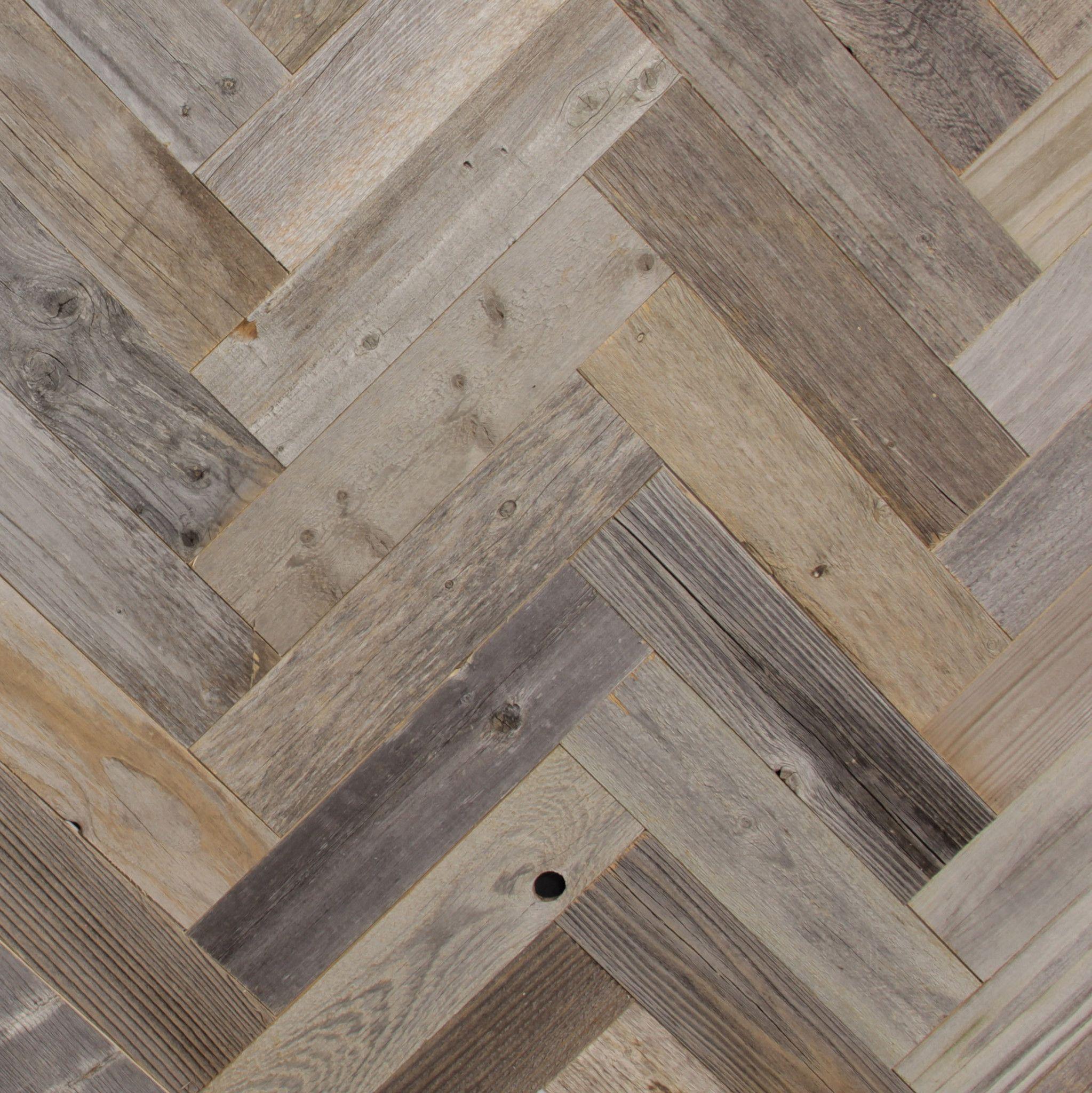 Reclaimed Barn Wood Planks Herringbone Pattern Reclaimed Barn Wood Reclaimed Barn Wood Wall Herringbone Wood