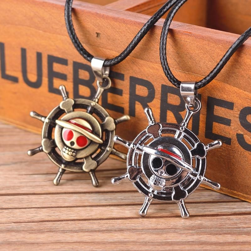 New One Piece Wanted Necklace Monkey.D.Luffy Wanted Cosplay Necklace Pendant