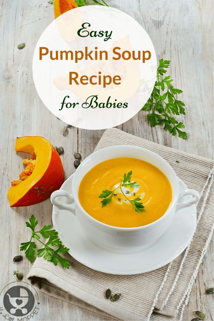 Babies recipe pumpkin soup soup recipes baby food