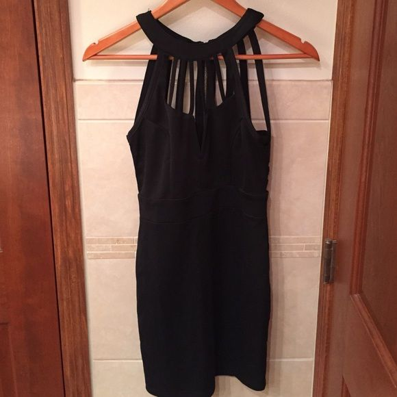 Black dress Black with gold zipper, perfect condition only worn once for a special occasion WINDSOR Dresses Mini