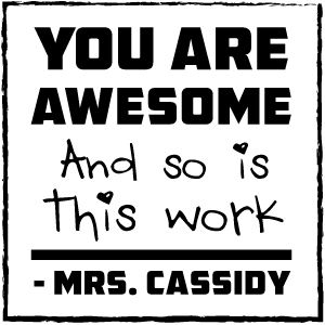 cassidy personalized teacher stamp off to school pinterest