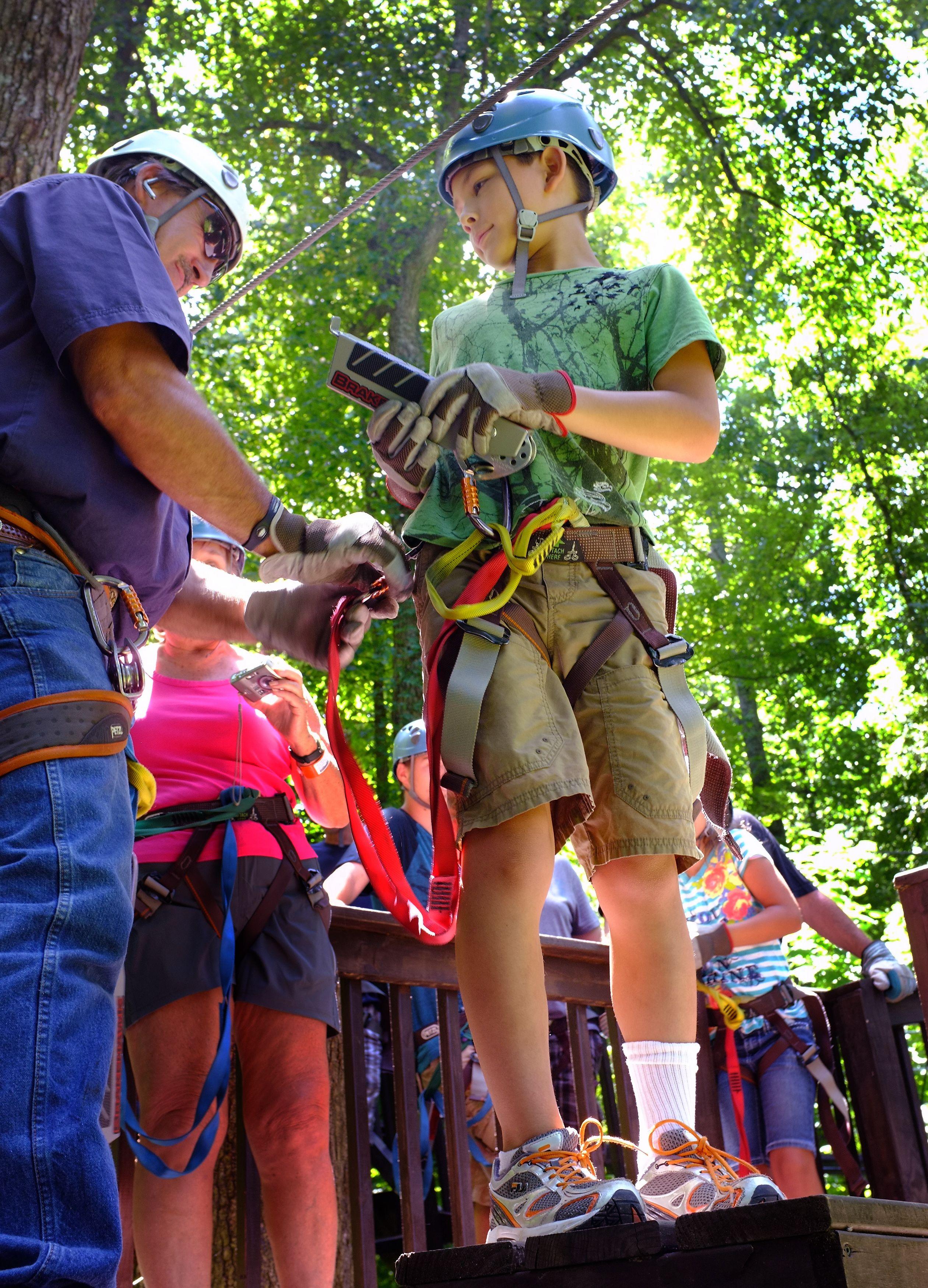 Kentucky Action Park Twin Zipline Cave City Ziplining Kentucky
