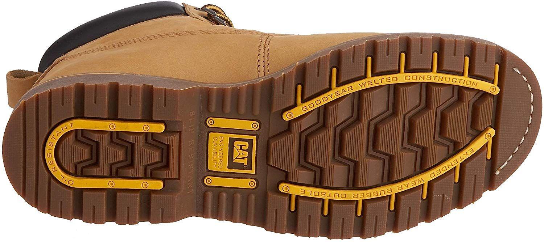 Caterpillar Holton Bottes De Securite Homme Beige Dark Honey 45 Eu Amazon Fr Chaussures Et Sacs Sepatu