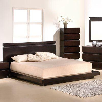 Godin Platform Bed With Images Platform Bedroom Sets Modern