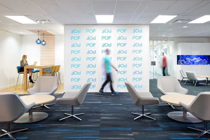 Plentyoffish Vancouver Office Expansion Office Snapshots Interior Corporate Interiors Office Pendant Lighting