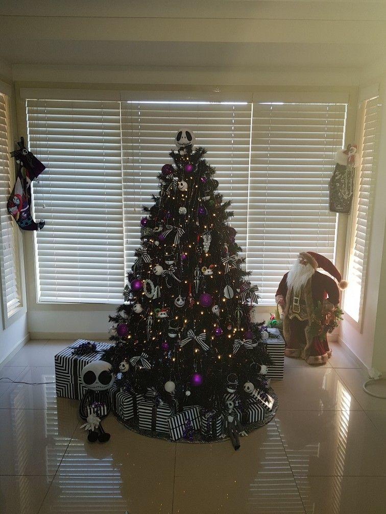 My Nightmare Before Christmas Themed Christmas Tree Christmas Tree Themes Nightmare Before Christmas Christmas Themes
