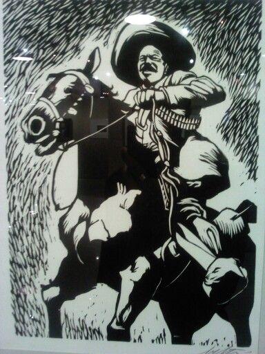 Pancho Villa Carteles Antiguos Arte Grafico Fotos Antiguas