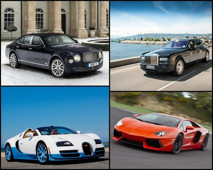 Worlda??s top 5 luxury cars with the worst gas mileage