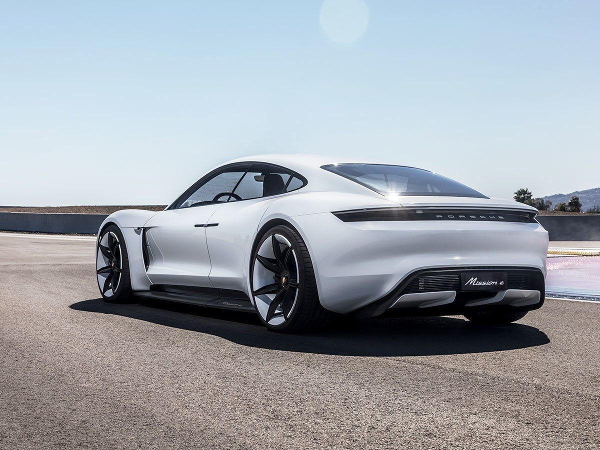 porsche s tesla fighting mission e sports car gets its own network
