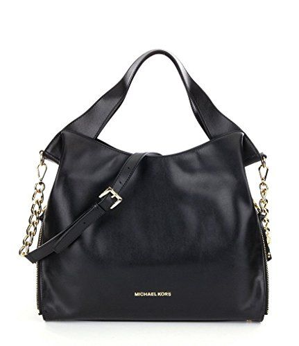 35dc2bd8a5477 MICHAEL Michael Kors Devon Large Shoulder Tote Bag Black ... http