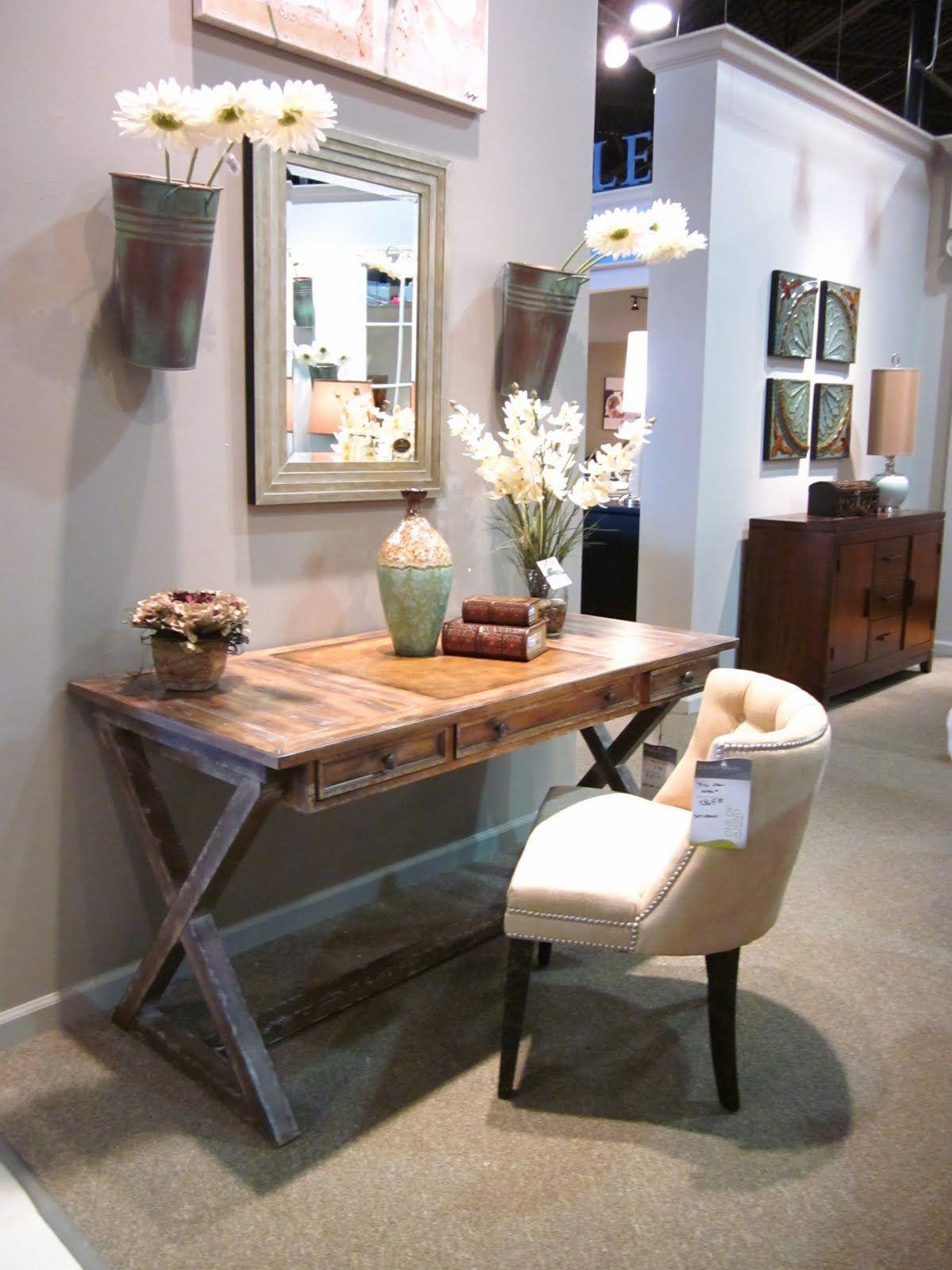 feminine desks marvellous design ideas   Savvy Spaces   Hallway office, Home office decor, Home ...