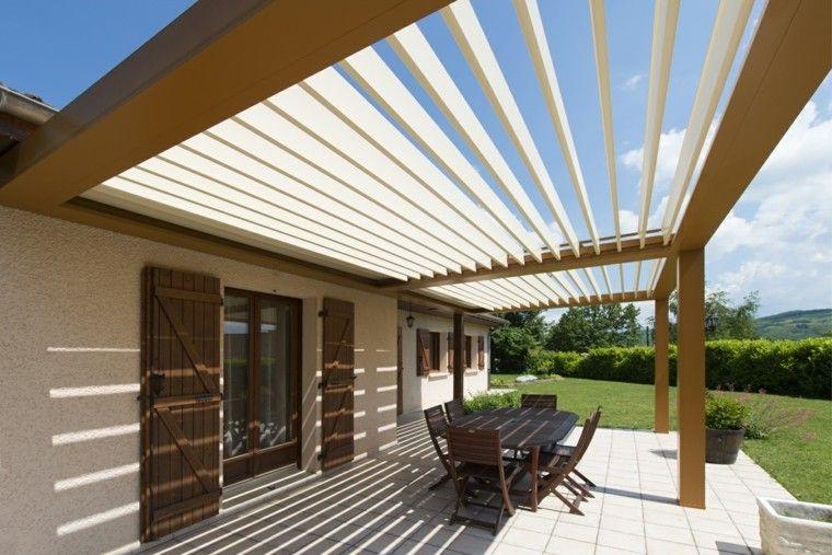 Pergolas modernas la opci n indespensable este verano dream home exteriores pinterest - Pergolas modernas ...