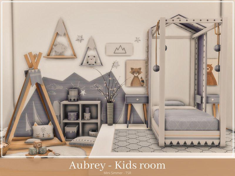 Mini Simmer's Aubrey Kids room