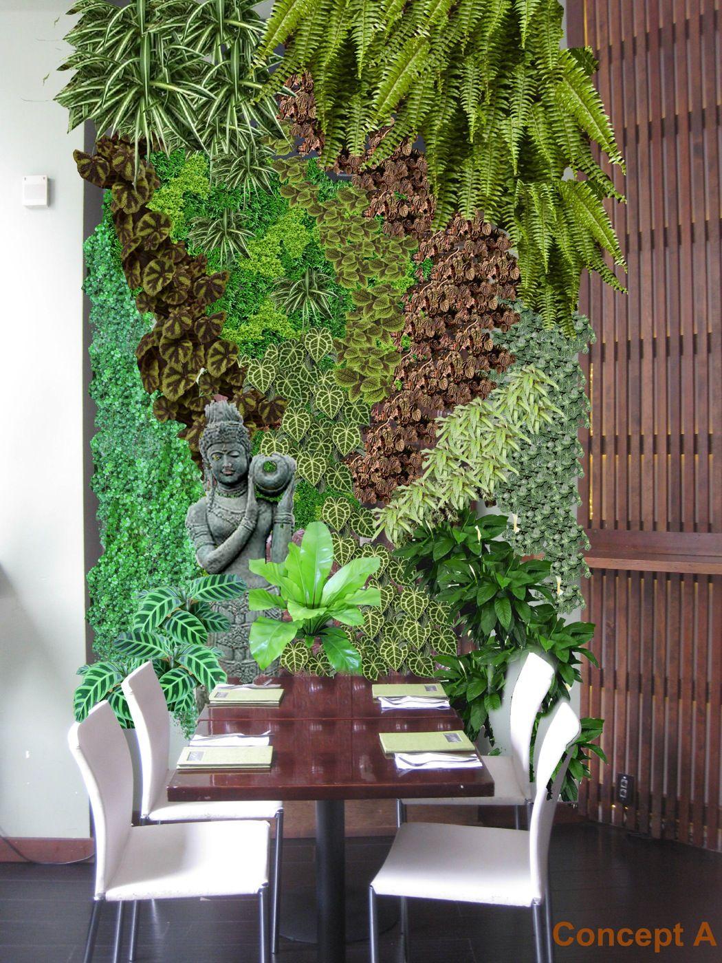 22 Amazing Vertical Garden Ideas For Your Small Yard: Vertical Garden // Habitat Horticulture