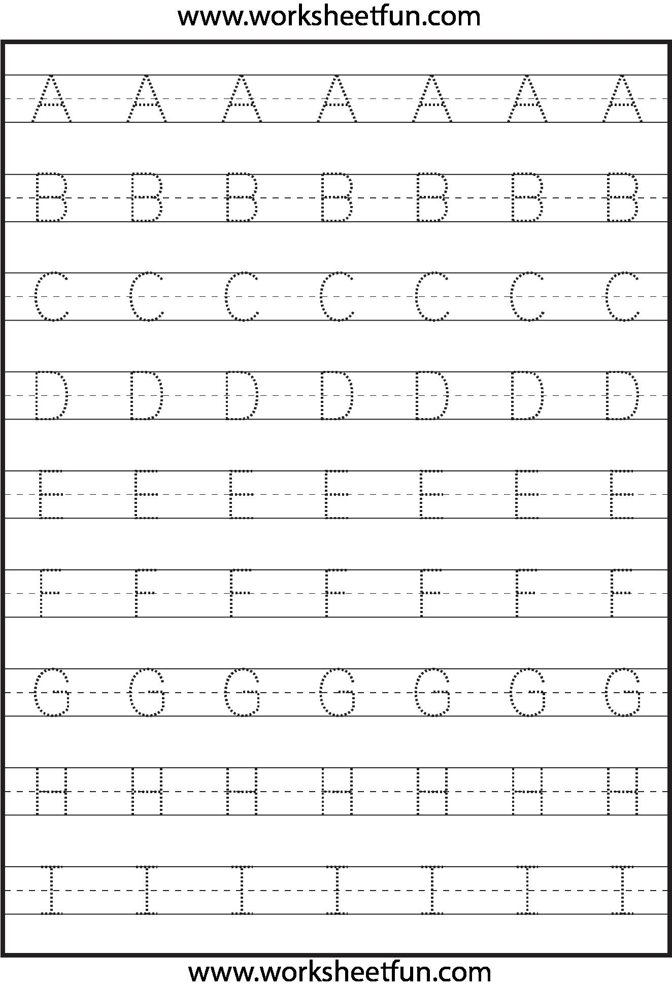 1 Capital Letter Worksheets In With Images