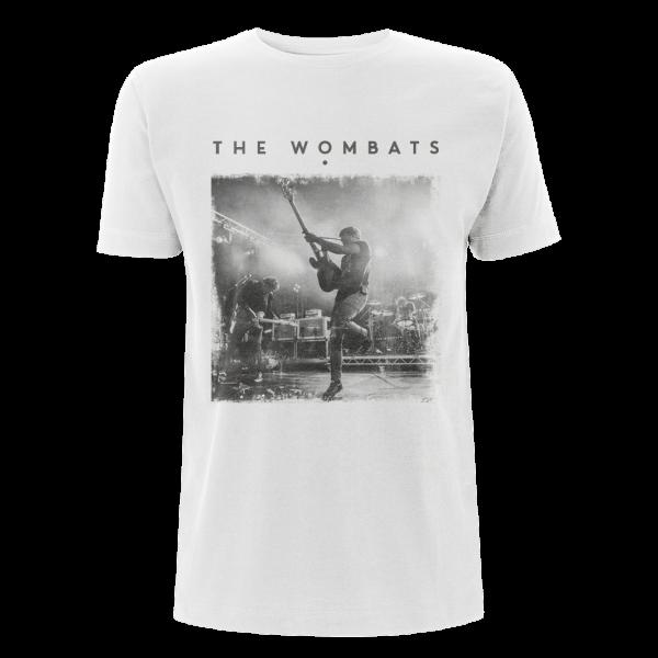 Photo Vintage Mens White T-shirt