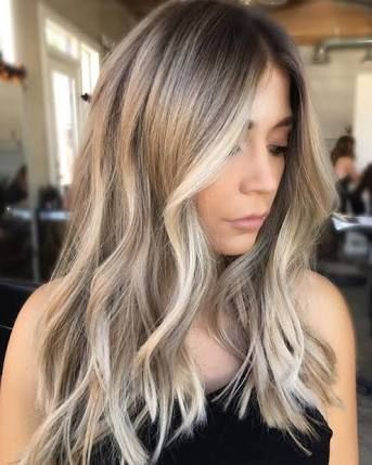 Image Result For Ash Blonde Balayage Brown Eyes Before After Hair