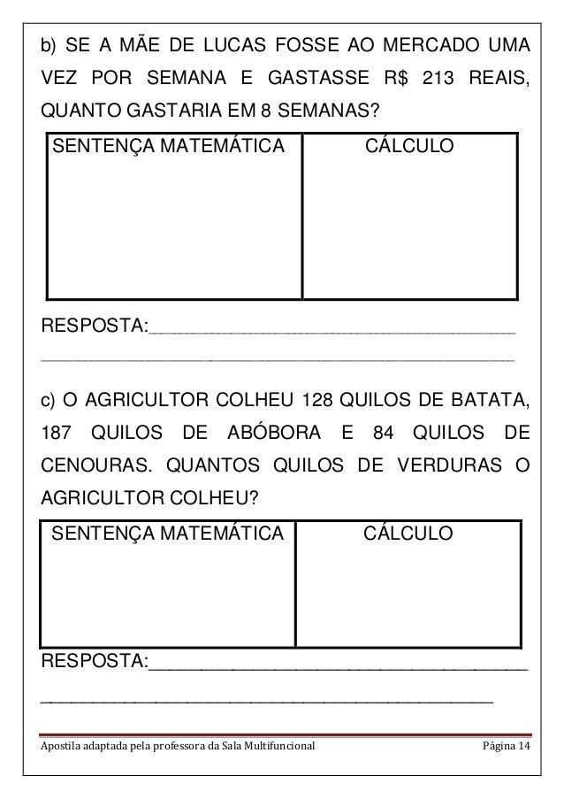 Apostila matemática em pdf | Matemáticas | Pinterest