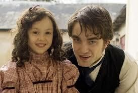 I love Rob & children --> with the little co-star from Bel Ami