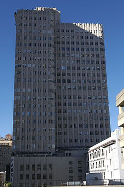 Neo-Mayan influence San Francisco medical building completed Oct 15, 1929