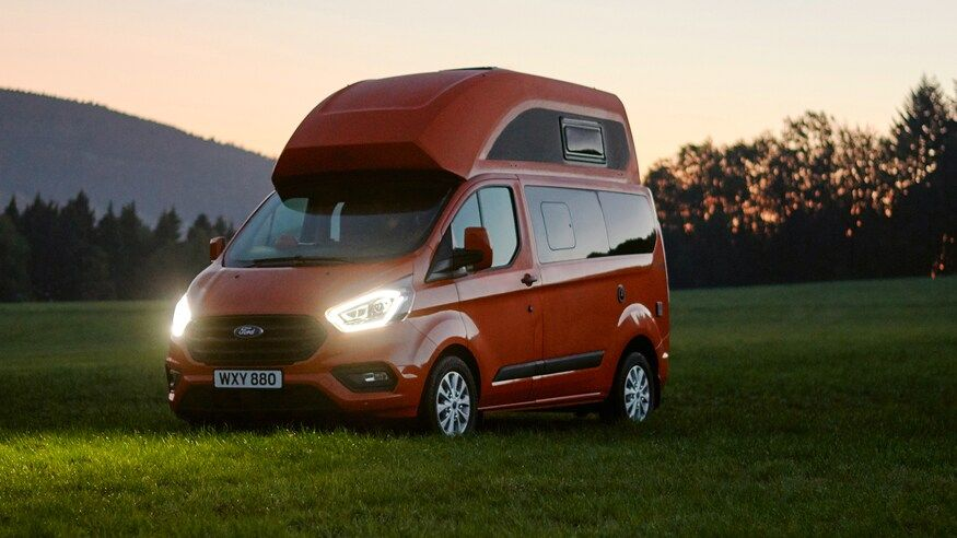 Westfalia Ford Nugget Transit Camper Van Conversion Is Vantastic Ford Transit Transit Custom Transit Camper