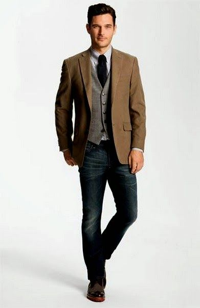 Most recent Styles of Sports Coat with Jeans- New Combination of ...