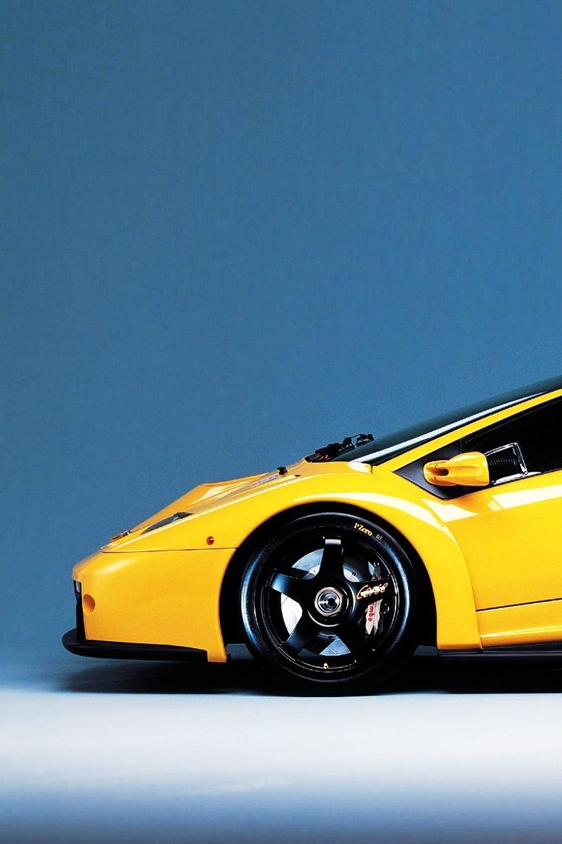 Lamborghini Diablo GTR sitting on them PZeros!!!