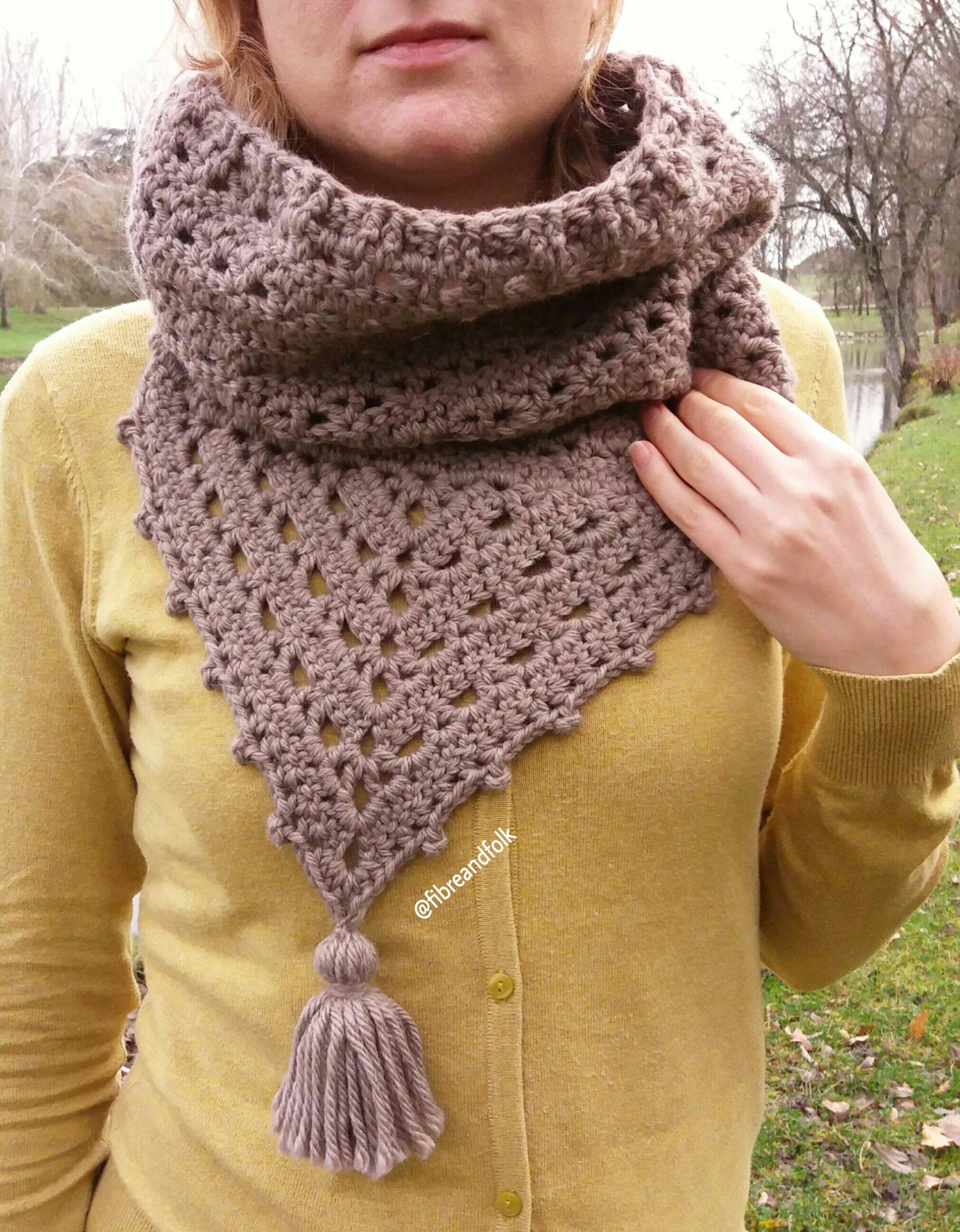 Col Shawla Cowl Pattern By Fibre And Folk Crochet Crochet