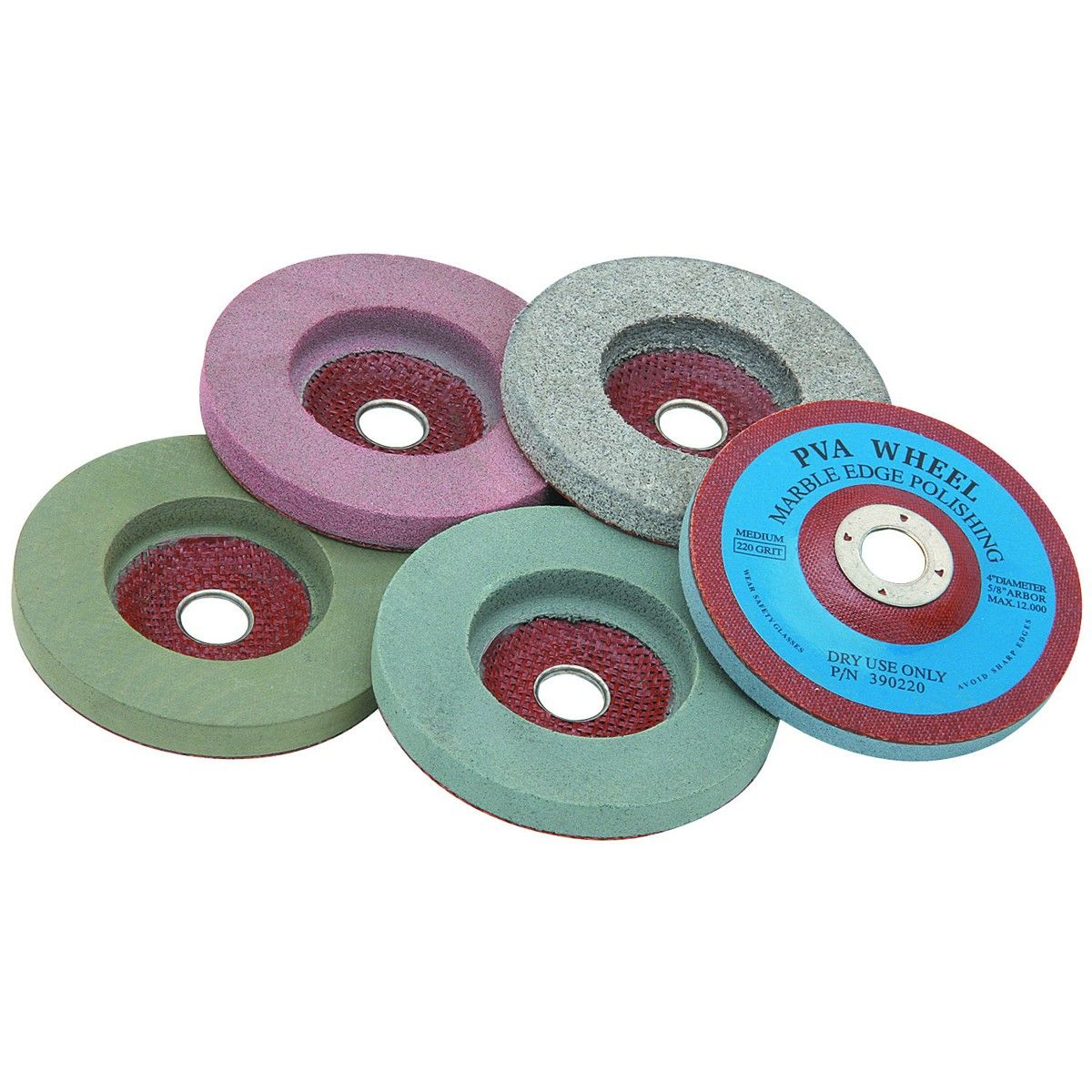 4 In Polishing Wheel Set 5 Pc In 2020 Resin Bond Electric Power Tools Marble Rock