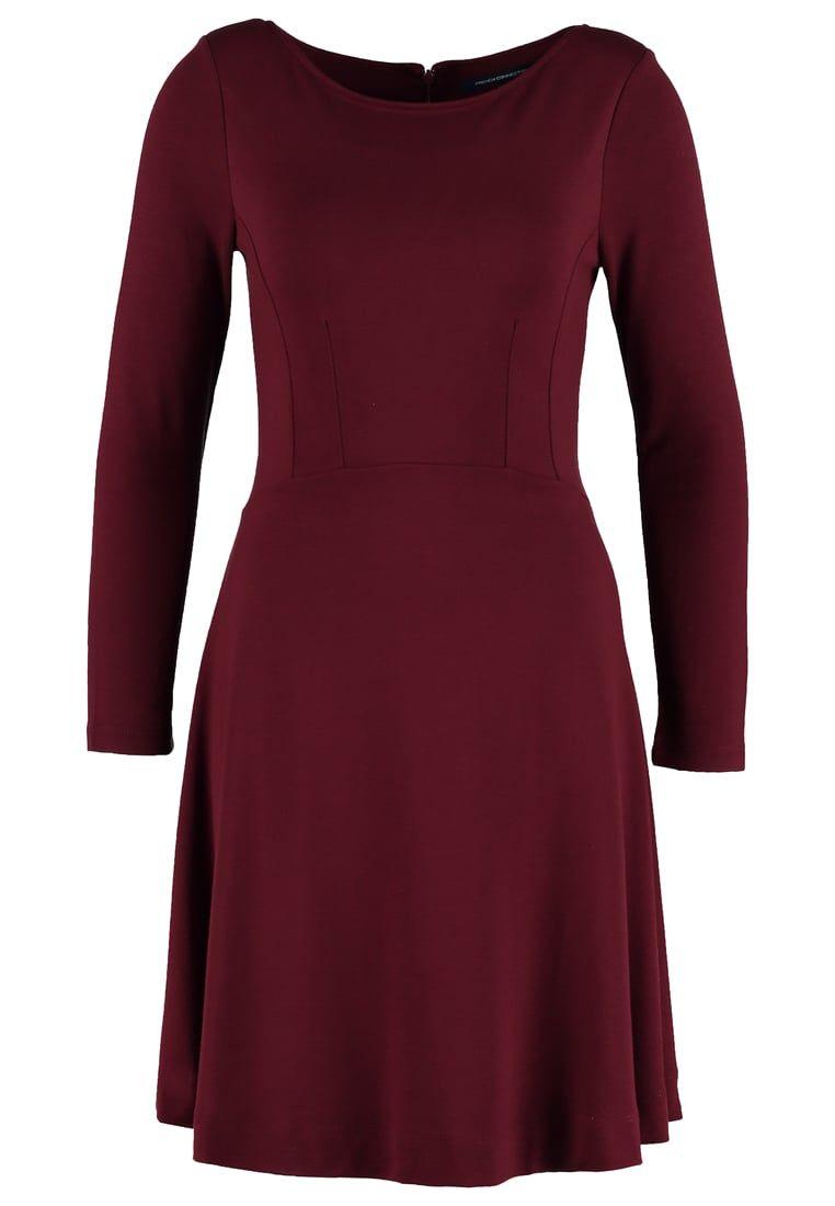 115€ Robes French Connection VALENTINE - Robe en jersey - zinfandel rouge foncé: 115,00 € chez Zalando (au 25/08/16). Livraison et retours gratuits et service client gratuit au 0800 915 207.