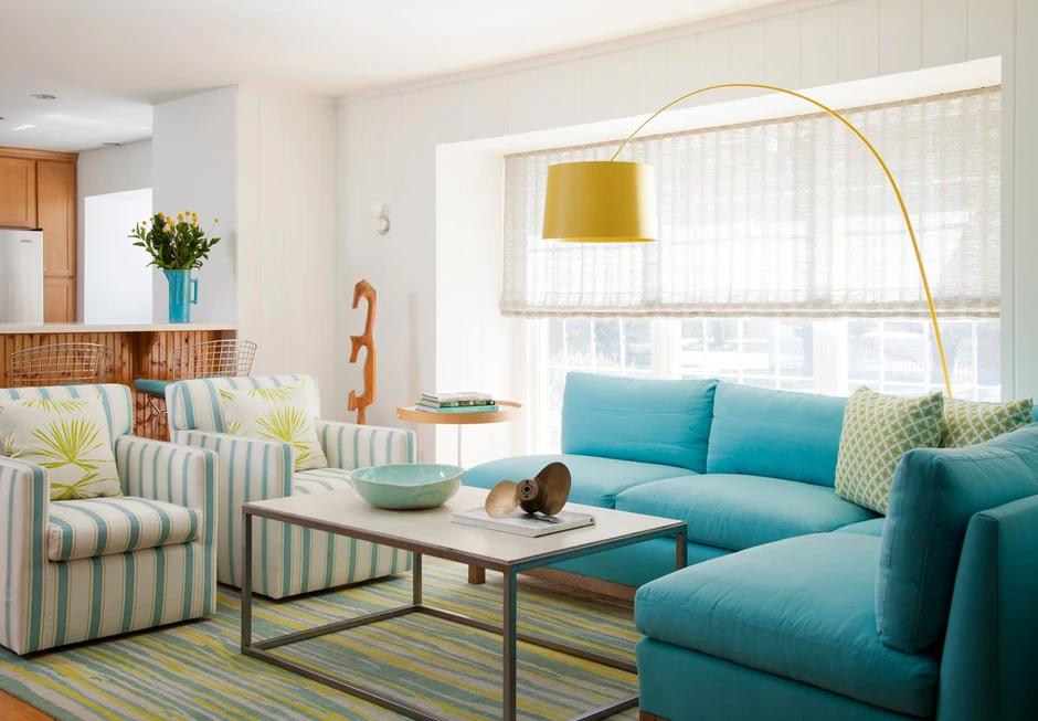 amanda nisbet design  living room turquoise turquoise